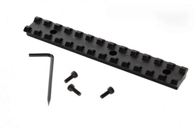 Espingarda Double Defense - Com Coronha e Telha de Polímero – Monogatilho – A-681