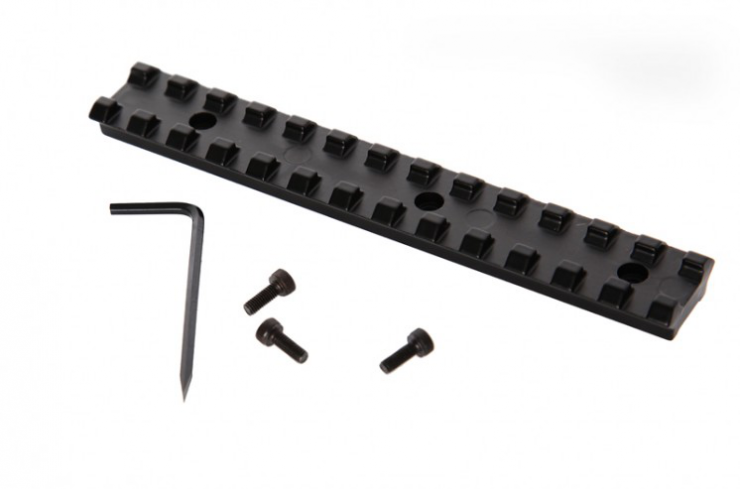 Espingarda Double Defense - Com Coronha e Telha de Polímero – Bigatilho – A-680