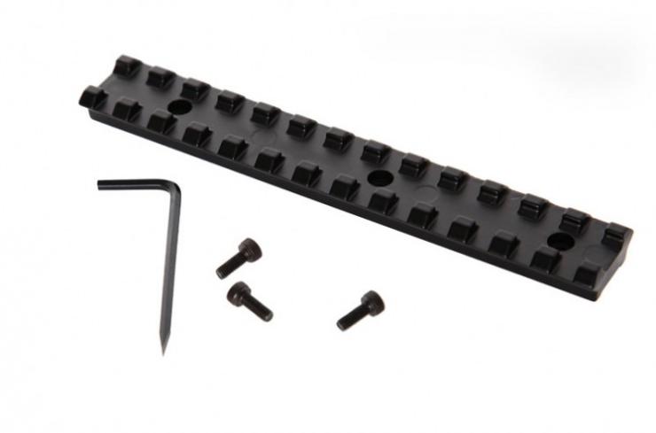 Espingarda Over Defense - Com Coronha e Telha de Madeira – Acabamento Standard – Oxidado - Somente cal. 20