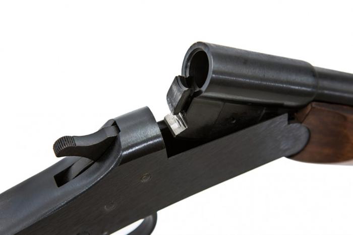 Espingarda Reúna Cal. 32, 36, 40 S/CT – Coronha e Telha Sintéticas - Acabamento Standard Oxidado