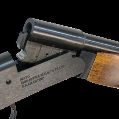Espingarda Reúna Cal. 32, 36, 40 S/CT – Coronha e Telha Sintéticas - Acabamento Luxo