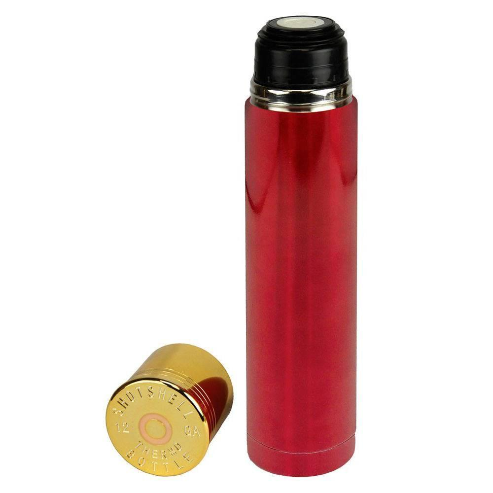 Garrafa Térmica Nautika Shot Shell 1 Litro Vermelho