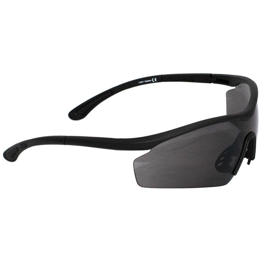 Óculos Proteção Preto com lente Fumê  AVB - T8850A-BK