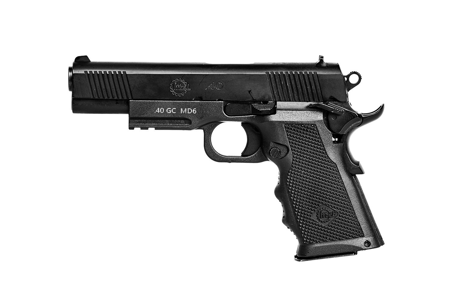 PISTOLA .40 GC - IMBEL MD6 C/ 03 CARREGADORES