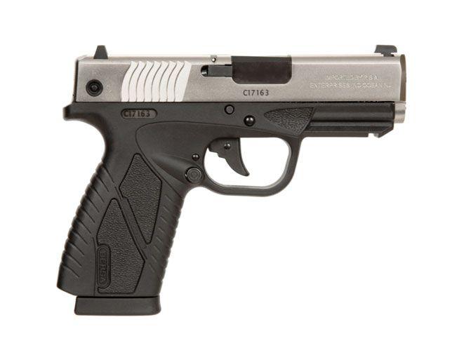 Pistola Bersa BP .380 CC - 8 Tiros - Dois Tons