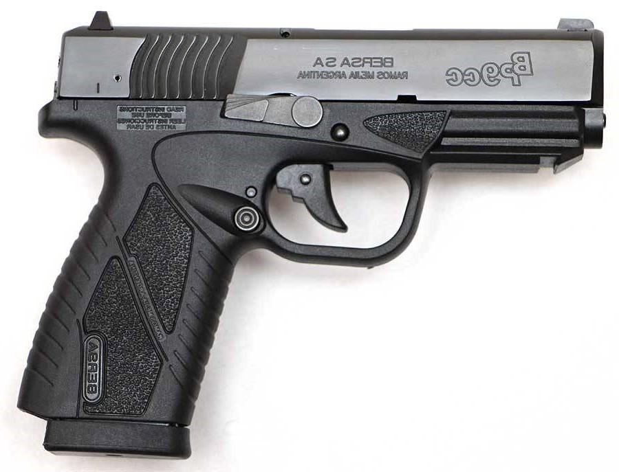 Pistola Bersa BP 9cc - .9mm - 08 Tiros - oxidada