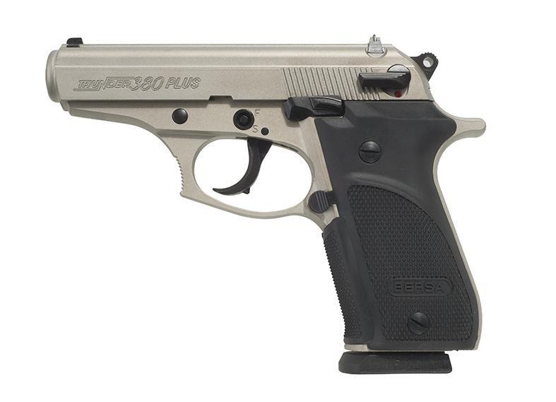 Pistola Bersa THUNDER .380 Plus - 15 Tiros - Niquelada