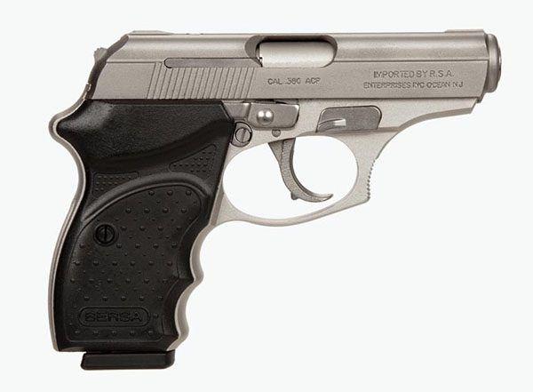 Pistola Bersa THUNDER 380CC - 08 Tiros - Niquelada