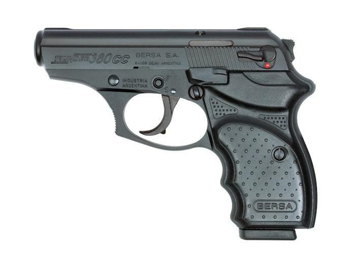 Pistola Bersa THUNDER 380CC - 08 Tiros - Oxidada