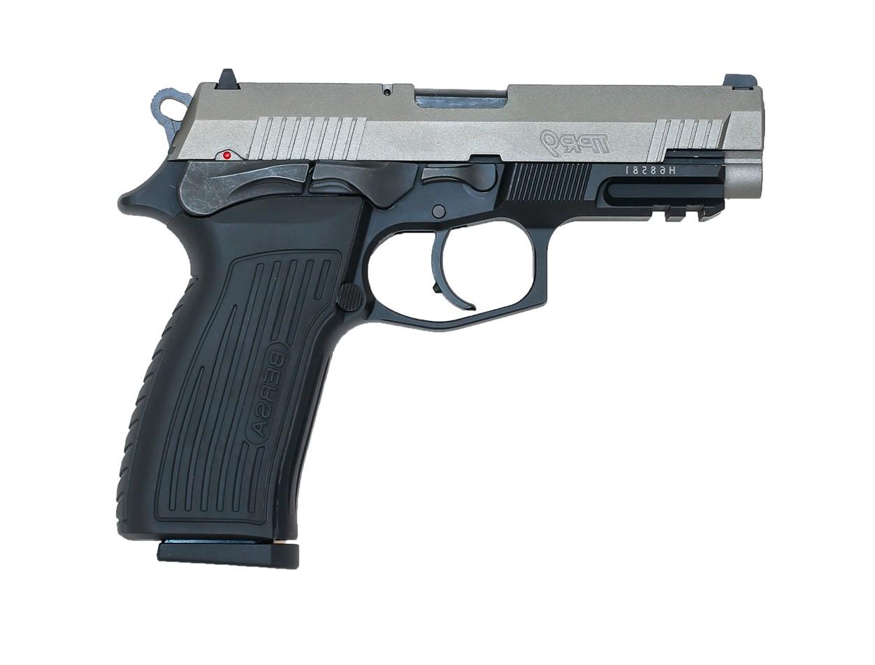 Pistola Bersa TPR9 - .9mm - 17 Tiros - Dois Tons