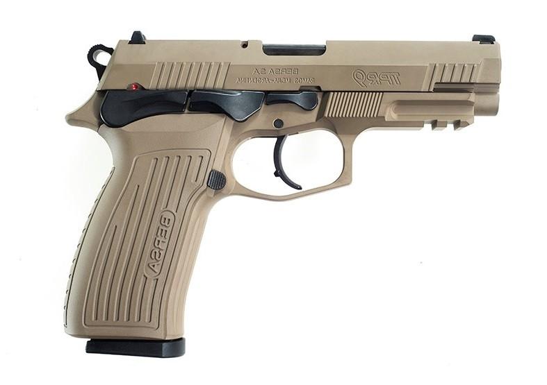 Pistola Bersa TPR9 - .9mm - 17 Tiros - Flat Dark Heart