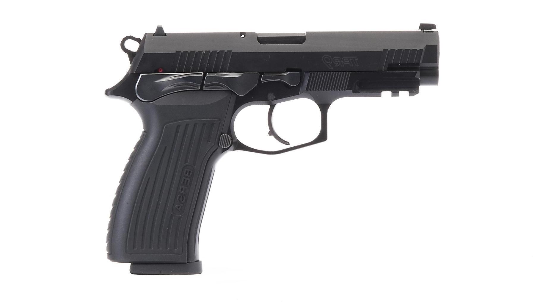 Pistola Bersa TPR9 - .9mm - 17 Tiros - Oxidada