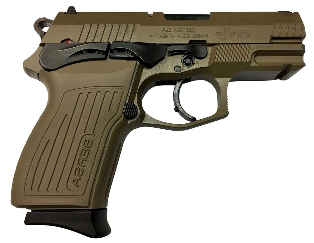 Pistola Bersa TPR9 C - .9mm - 13 Tiros - Flat Dark Heart