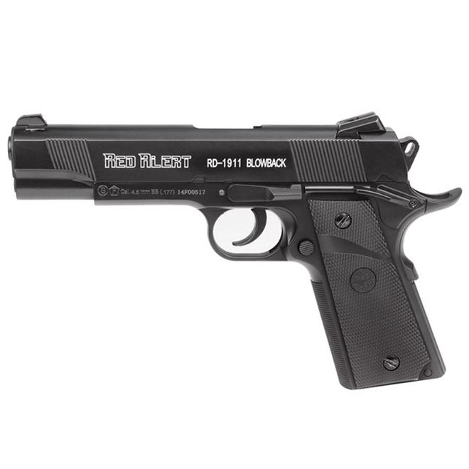Pistola de Pressão CO2 Gamo Red Alert RD-1911 Blowback - 4,5mm