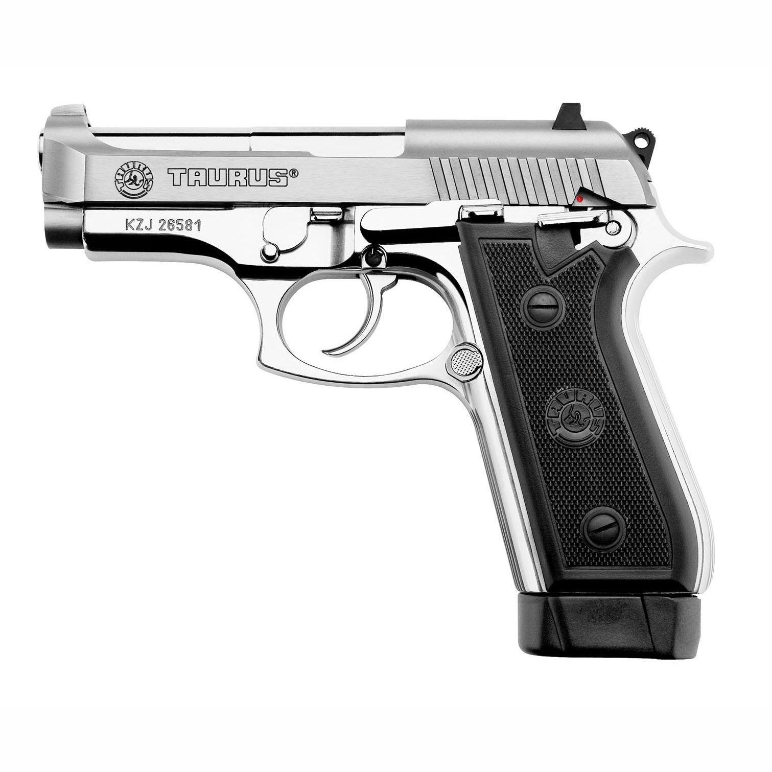Pistola Taurus PT 58 HC PLUS/19 .380AUTO Inox Fosco