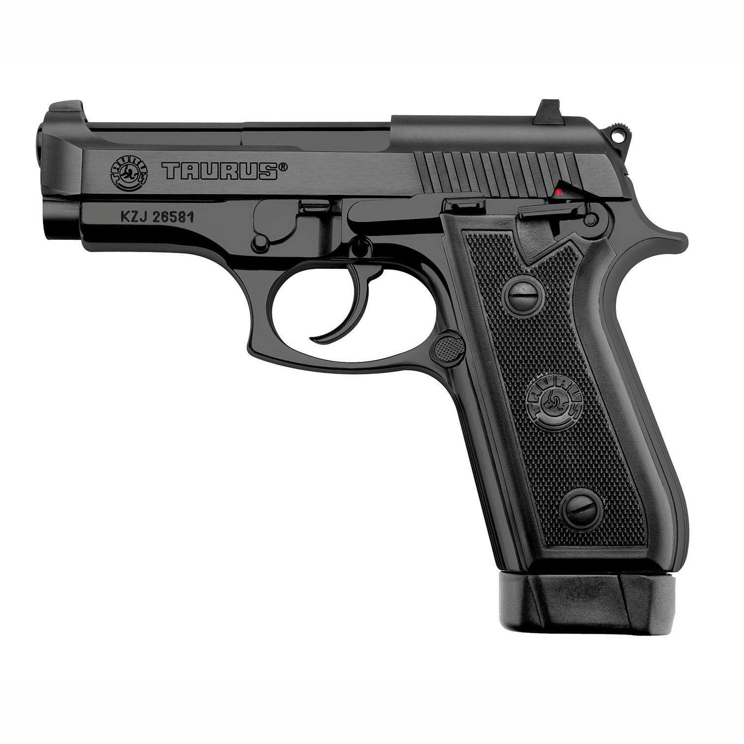 Pistola Taurus PT 58 HC PLUS/19 .380AUTO Oxidada Fosco