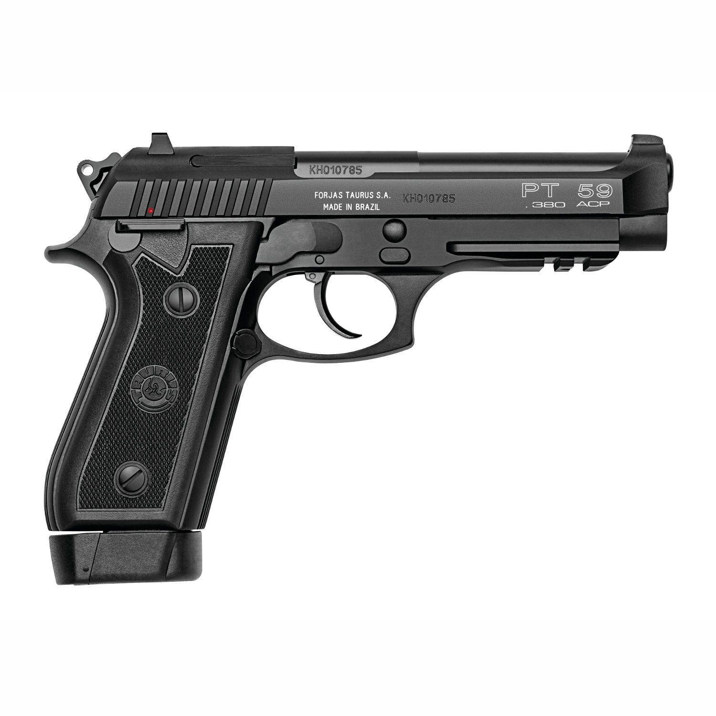 Pistola Taurus PT 59S/19 .380AUTO Oxidada Fosco