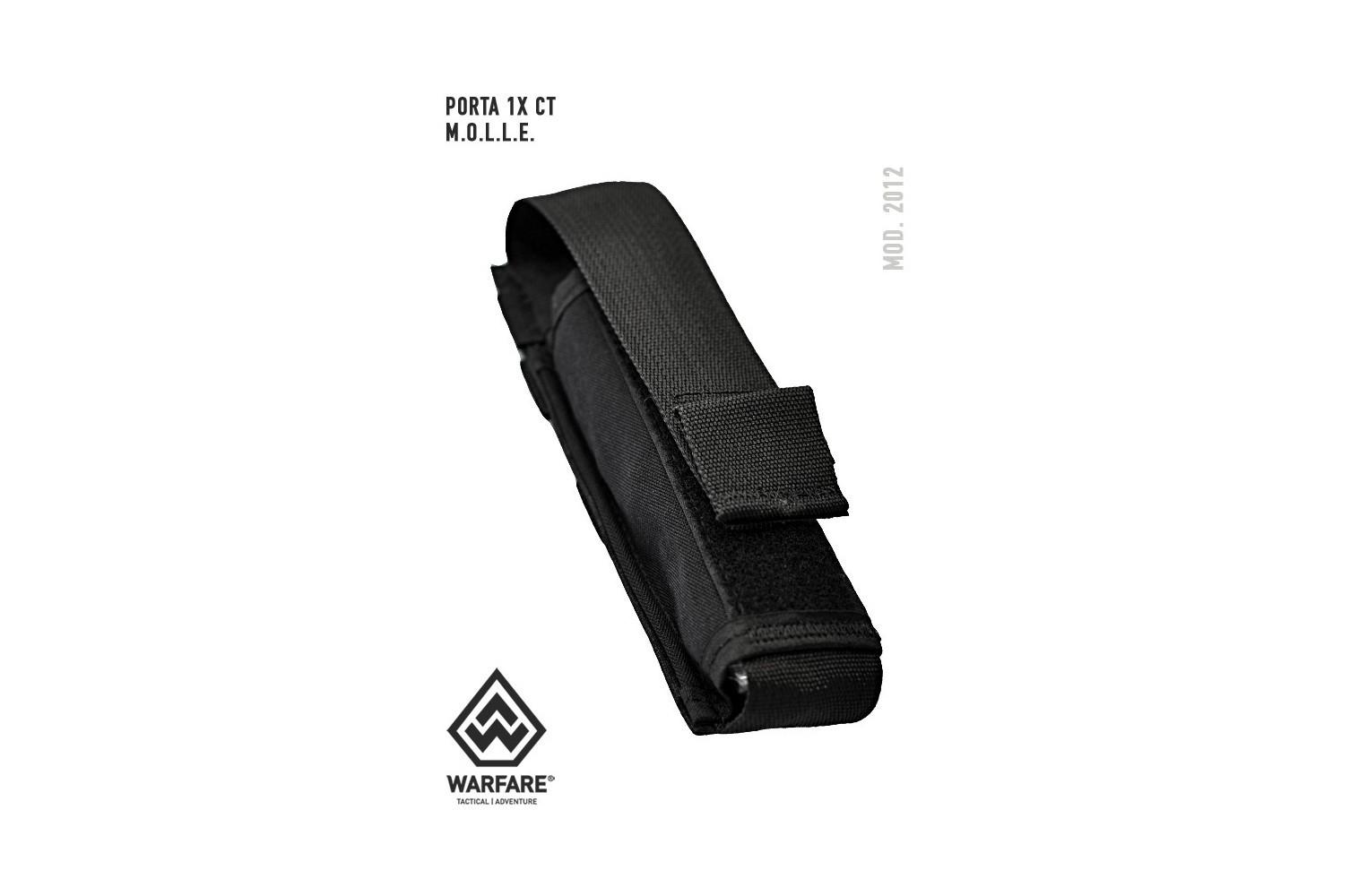 Porta Carregador 1 X Carabina Taurus .40 Ou MP5 - PRETO