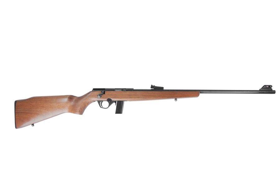 Rifle CBC 8122 Cal. 22 10 Tiros Oxidado Coronha de Madeira