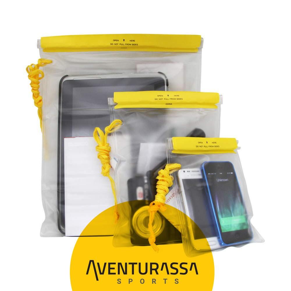 Bolsa Impermeável - conjunto com 3 unidades