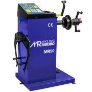 Balanceadora de Rodas Manual 10 a 24 Pol. Azul - RIBEIRO MR50