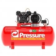 Compressor de Ar 10 PÉS 100 Litros Monofásico - PRESSURE ATG210100VM