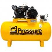 Compressor de Ar 10 PÉS 100 Litros Monofásico - PRESSURE SE10100VM
