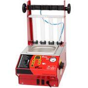 Máquina de Limpeza e Teste de Bicos Injetores com Teste de Corpo de Borboleta e Teste de Pedal Eletrônico com Software - SACCH RUB 91