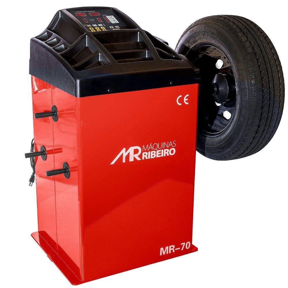 Balanceadora Motorizada 10 a 24 Pol. Vermelha - RIBEIRO MR70