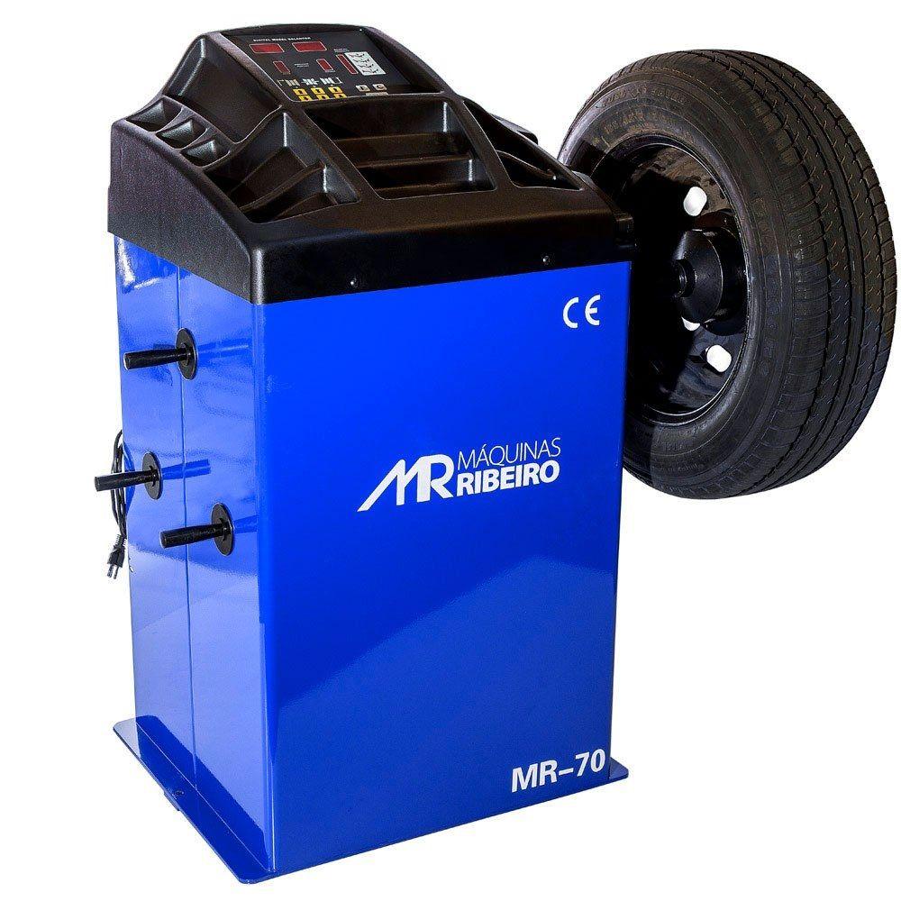 Balanceadora Motorizada 10 a 24 Pol. Azul - RIBEIRO MR70