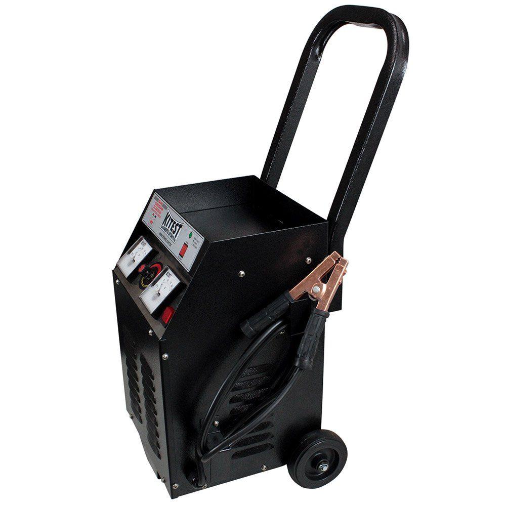 Carregador de Baterias com Auxiliar de Partida 50 Ampères - KITEST KA043