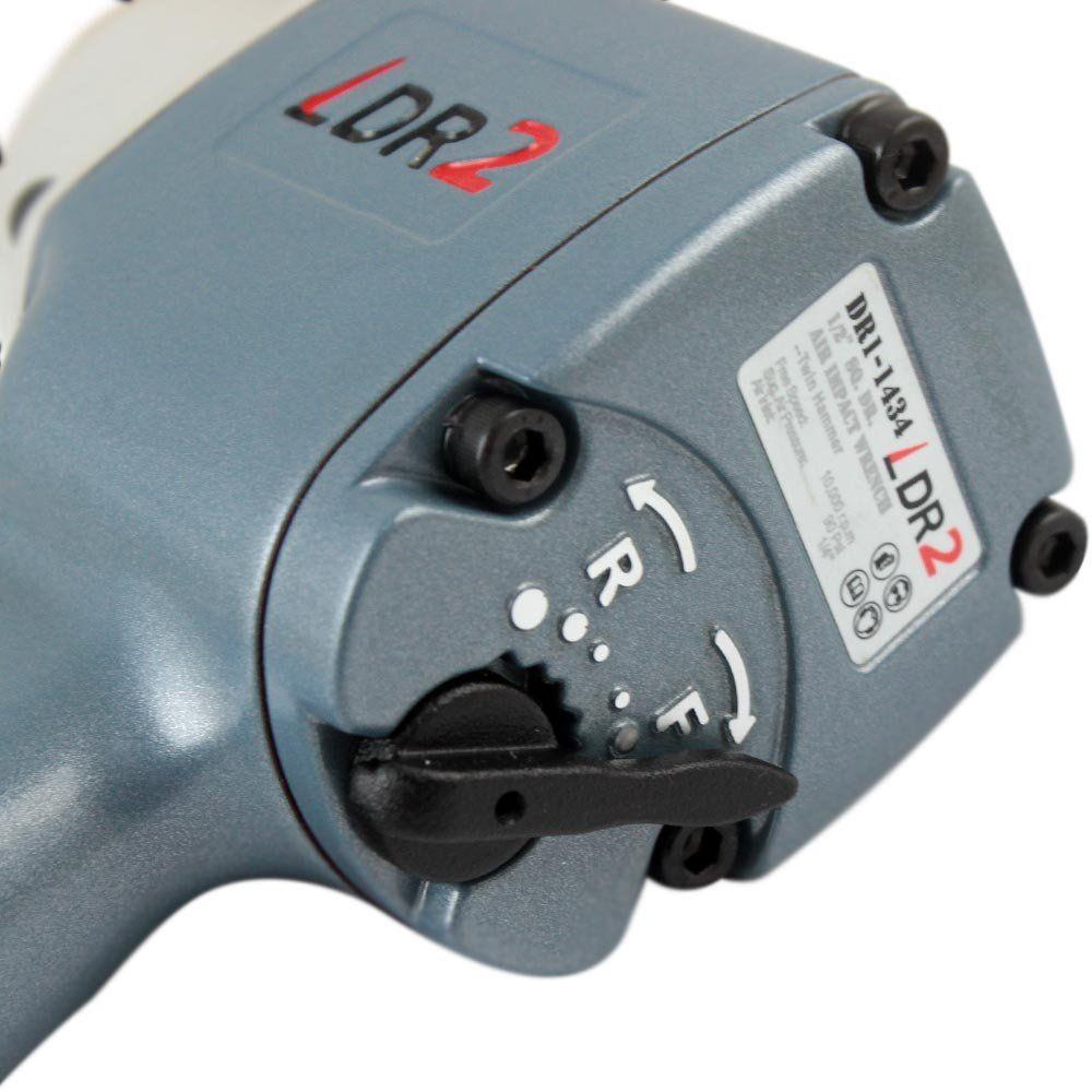 Chave de Impacto Pneumática Mini 1/2 Pol. x 55KGFM - LDR2 DR1-1434