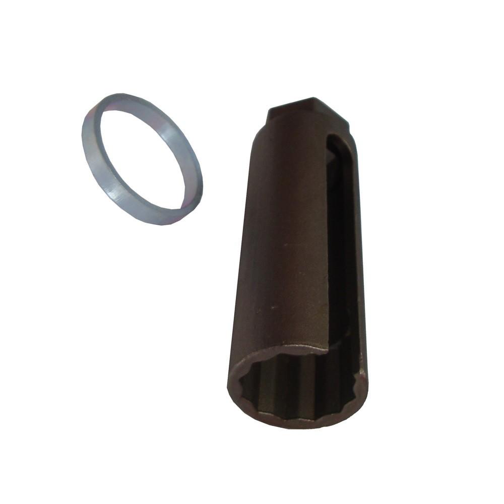 Chave para Sonda Lambda Aberta Estriada 22mm - MOTORTEST A0106