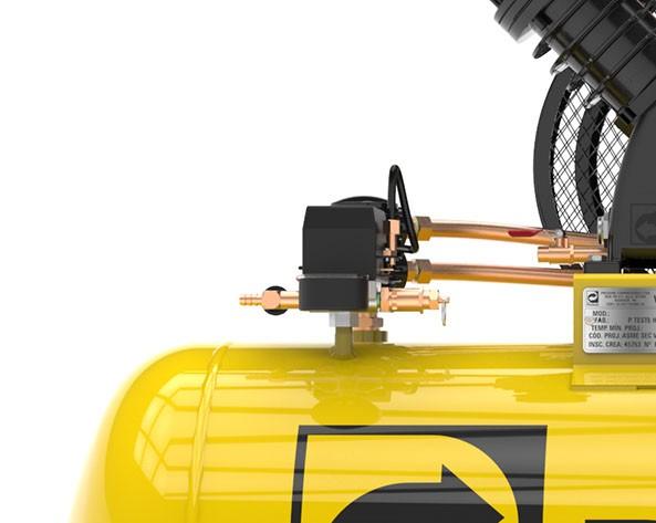 Compressor de Ar 15 PÉS 175 Litros Trifásico - PRESSURE SE15175VT