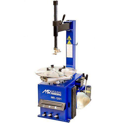 Desmontadora de Pneus para Rodas 12 a 24 Pol. Azul - RIBEIRO MR1201
