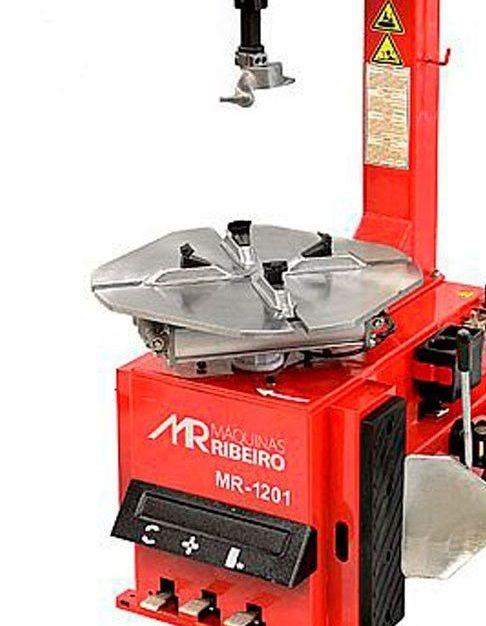 Desmontadora de Pneus para Rodas 12 a 24 Pol. Vermelha - RIBEIRO MR1201