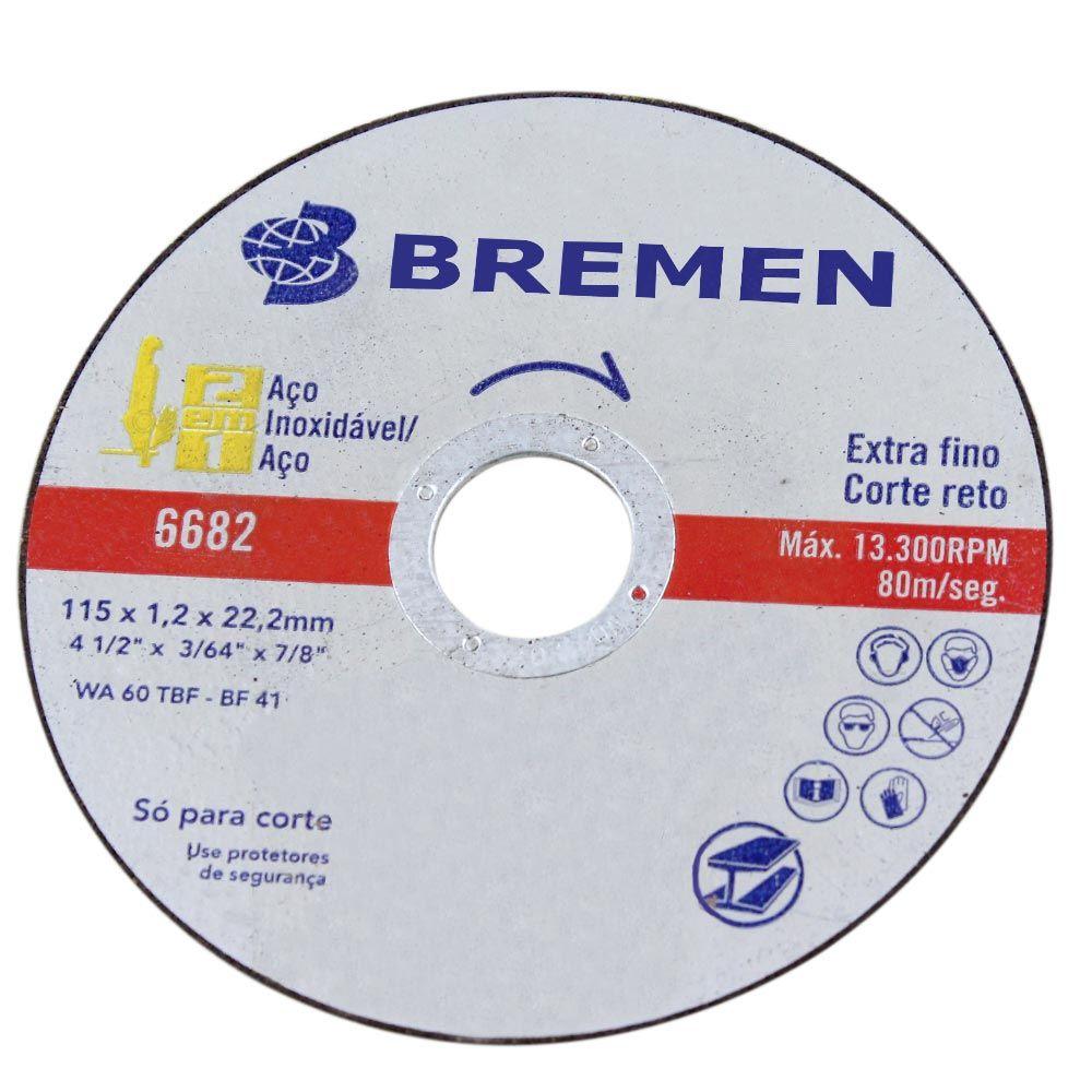 Disco de Corte Extra Fino 4.1/2