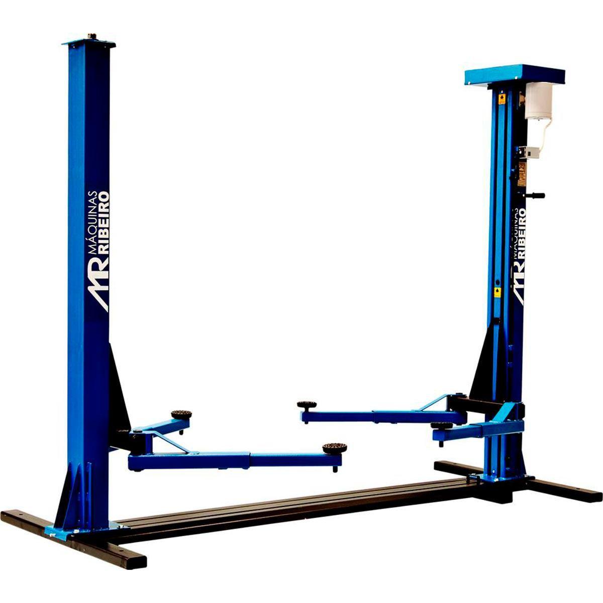 Elevador Automotivo 2500Kg Trifásico Azul - RIBEIRO ER2500