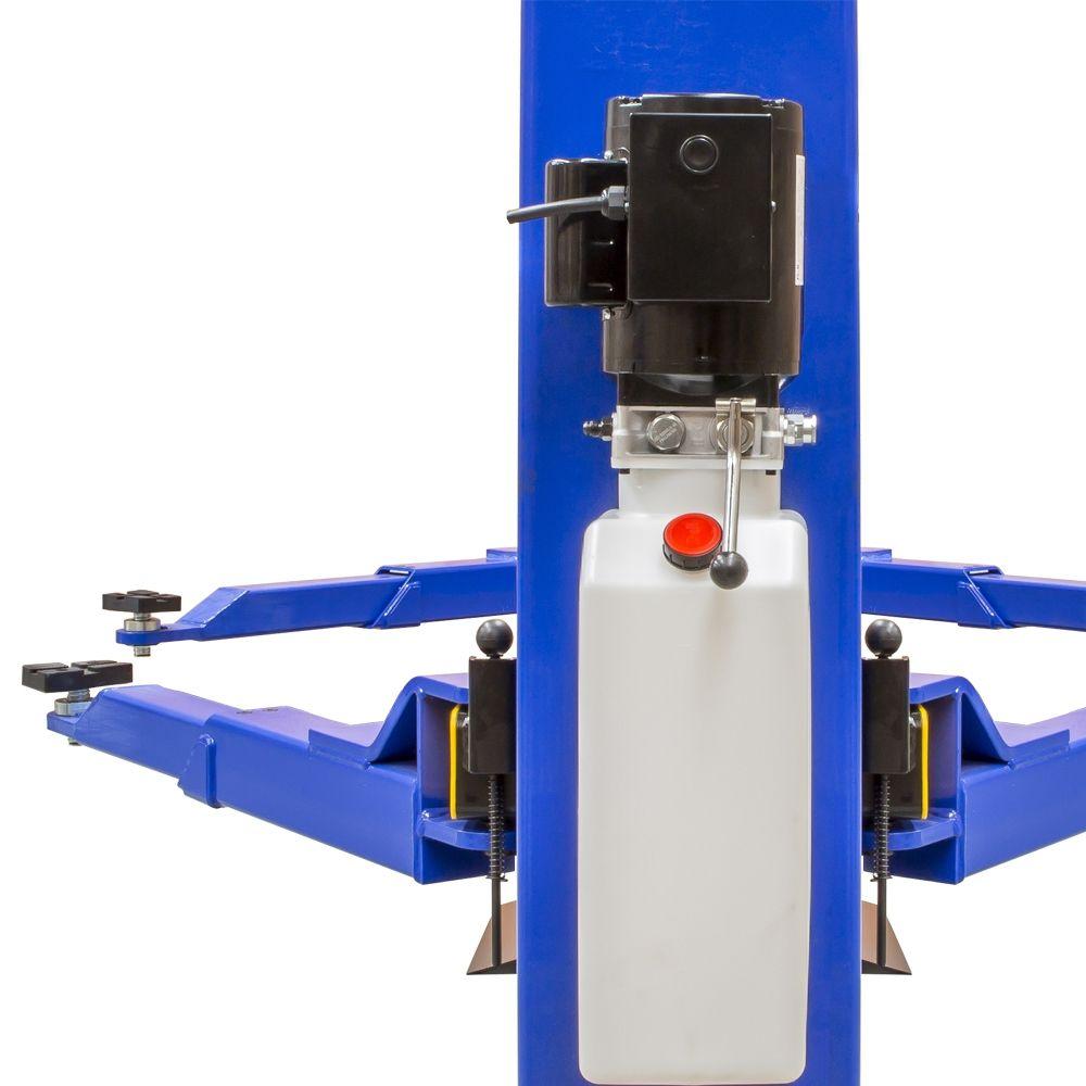 Elevador Automotivo 3000Kg Hidráulico 220V Monofásico Azul - RIBEIRO ERH3000D