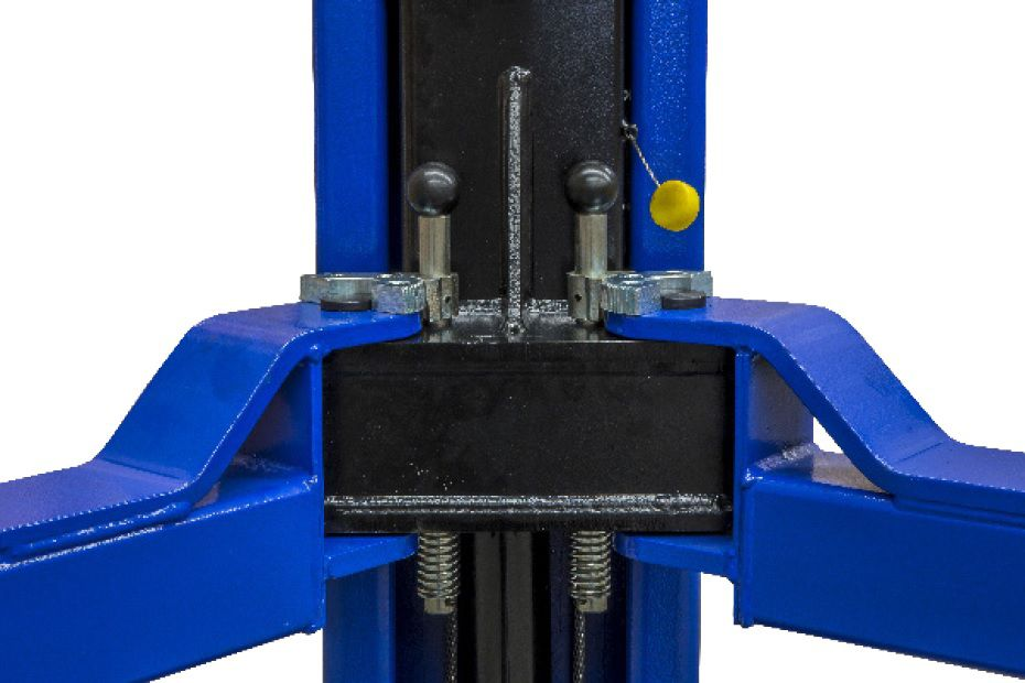 Elevador Automotivo Hidráulico 4000Kg Monofásico Azul - RIBEIRO ERH4000D