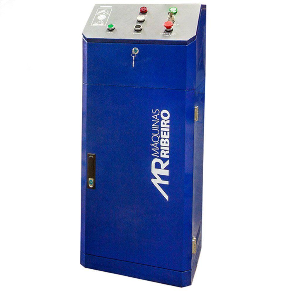 Elevador Pantográfico Automotivo 3500Kg Monofásico Azul - RIBEIRO ERH3500T