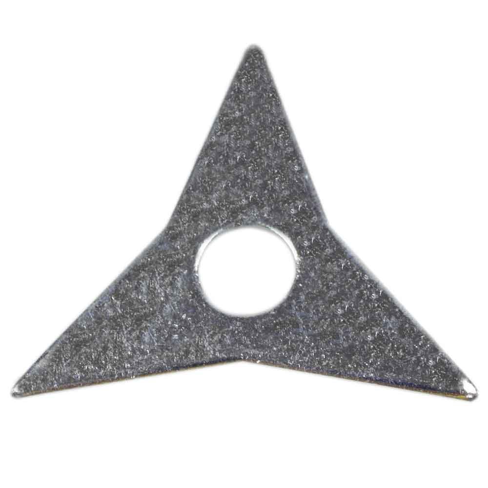 Estrela para Repuxo com 3 Pontas Galvanizada Caixa com 10 Unidades