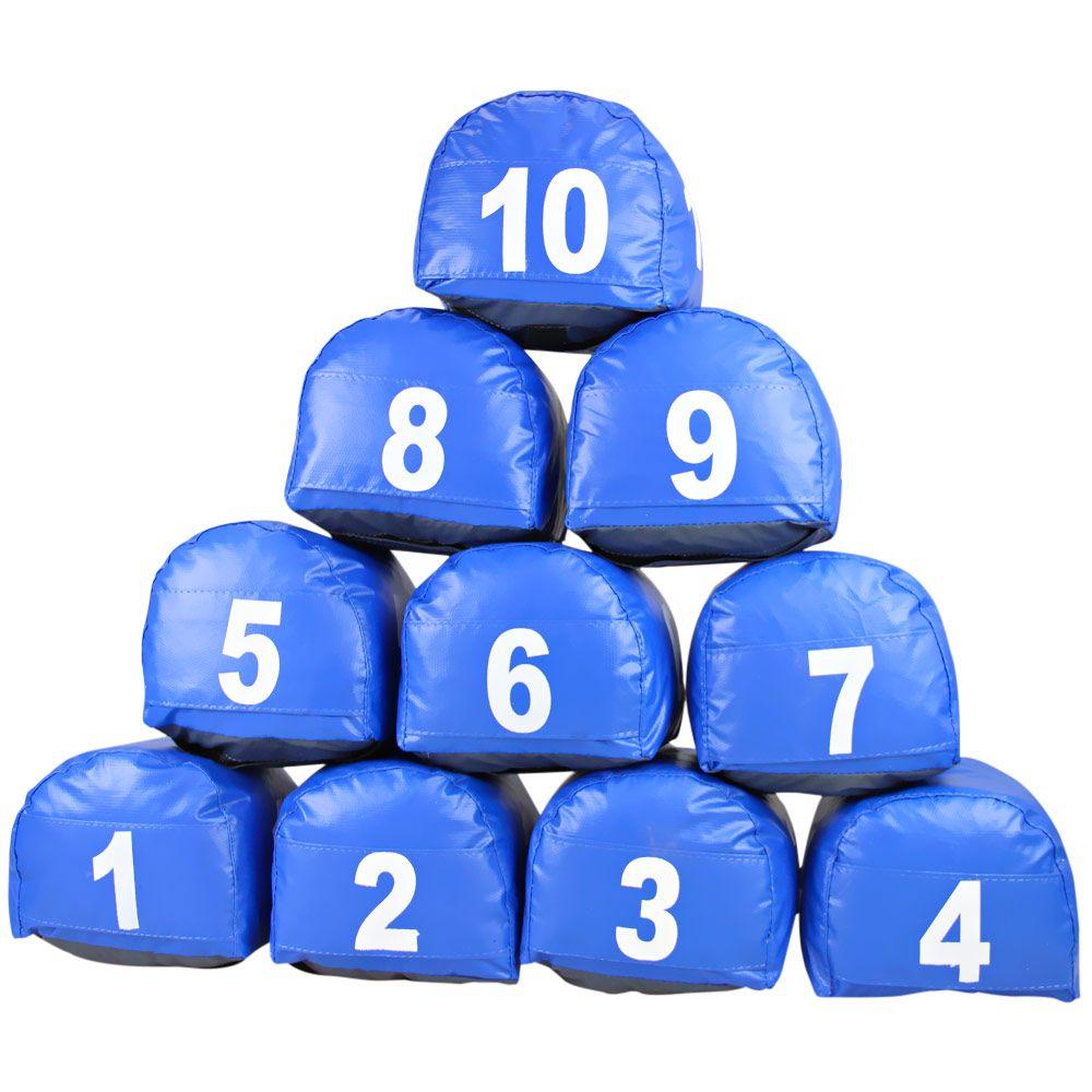 Jogo de Prisma Azul de 1 a 10