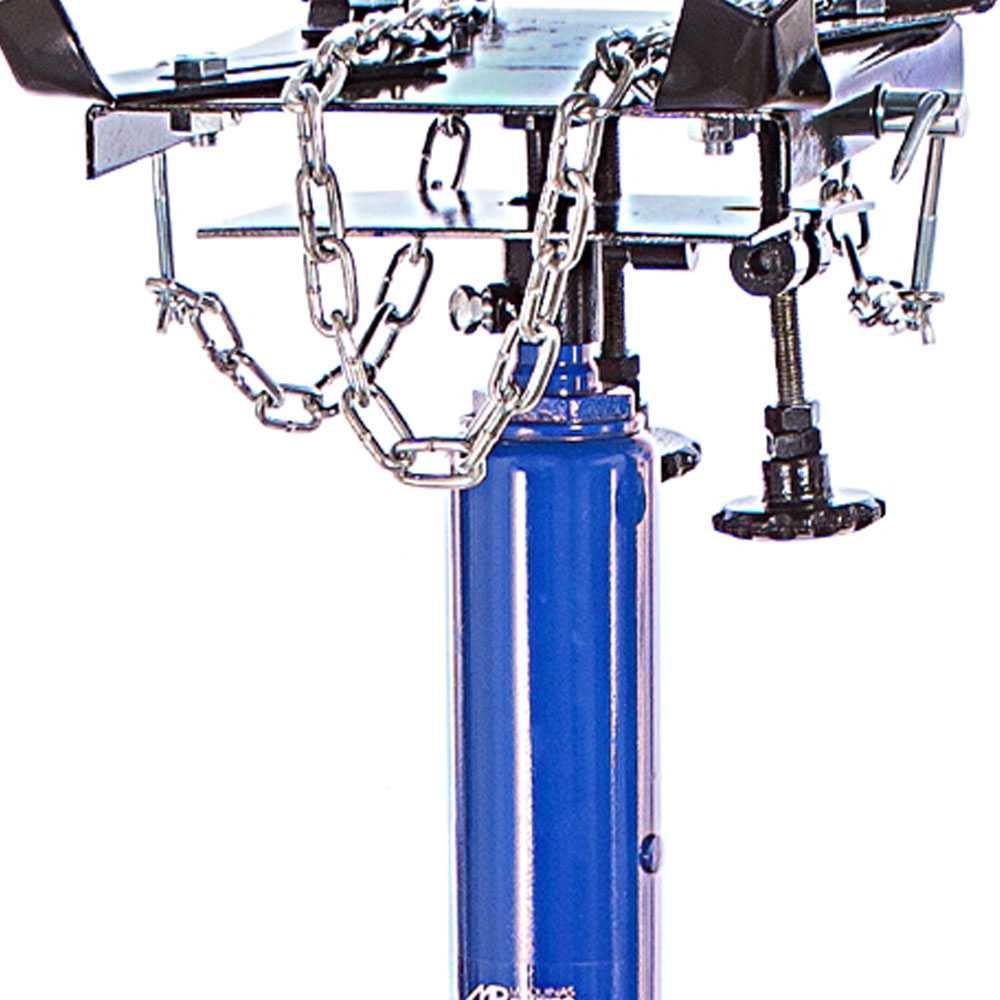 Macaco para Caixa de Cambio Hidraulico com 1 Estagio 500Kg Azul - RIBEIRO MR2054A