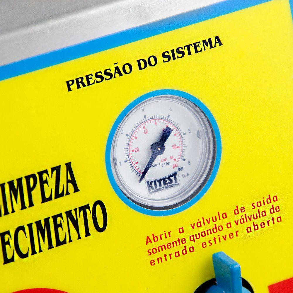 Máquina de Troca e Limpeza do Sistema de Arrefecimento - KITEST KA028