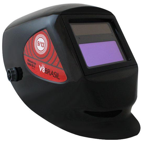 Máscara para Solda Automática com Regulagem de Tonalidade - V8 BRASIL CR2