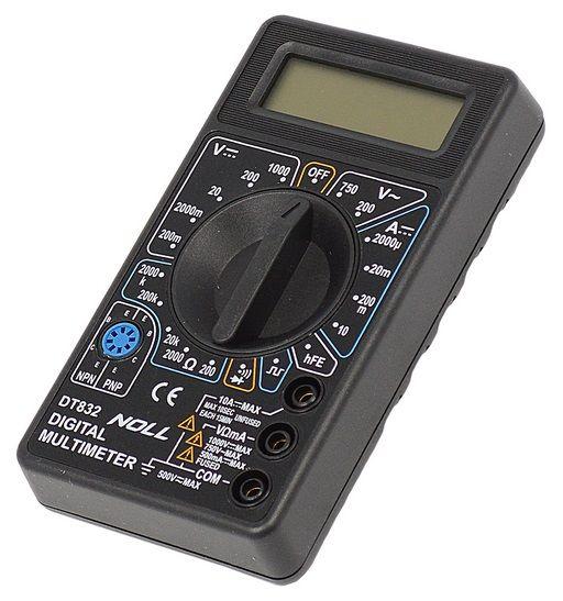 Multímetro Digital AC/DC e Teste de Continuidade