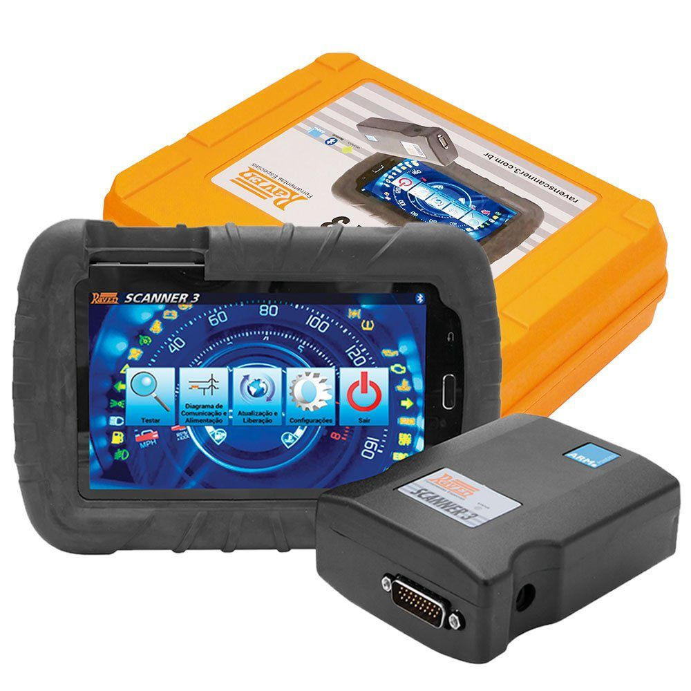 Scanner Automotivo Raven 3 com Tablet 7 Pol. - RAVEN 108800