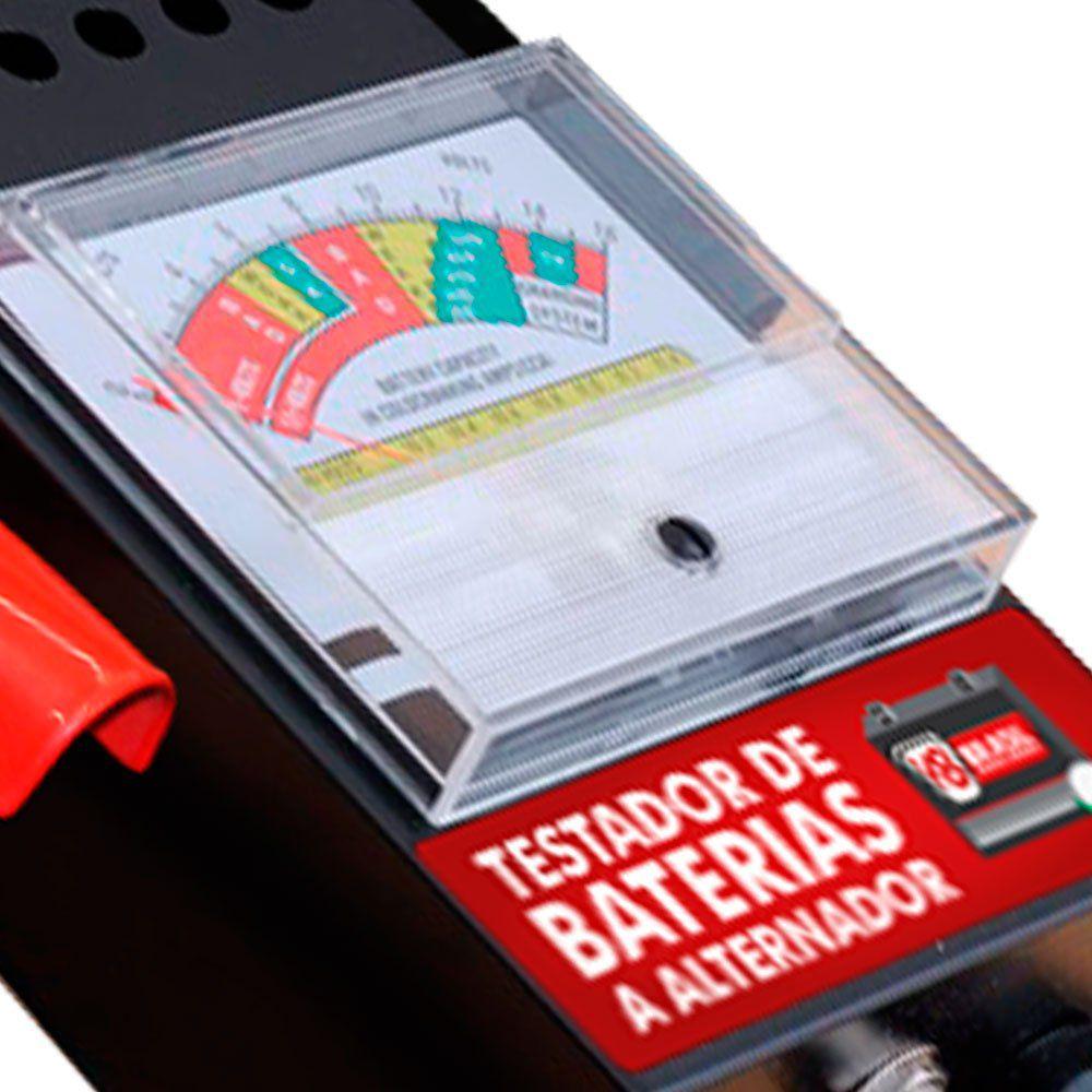 Testador de Baterias e Alternador - V8 BRASIL VTB200