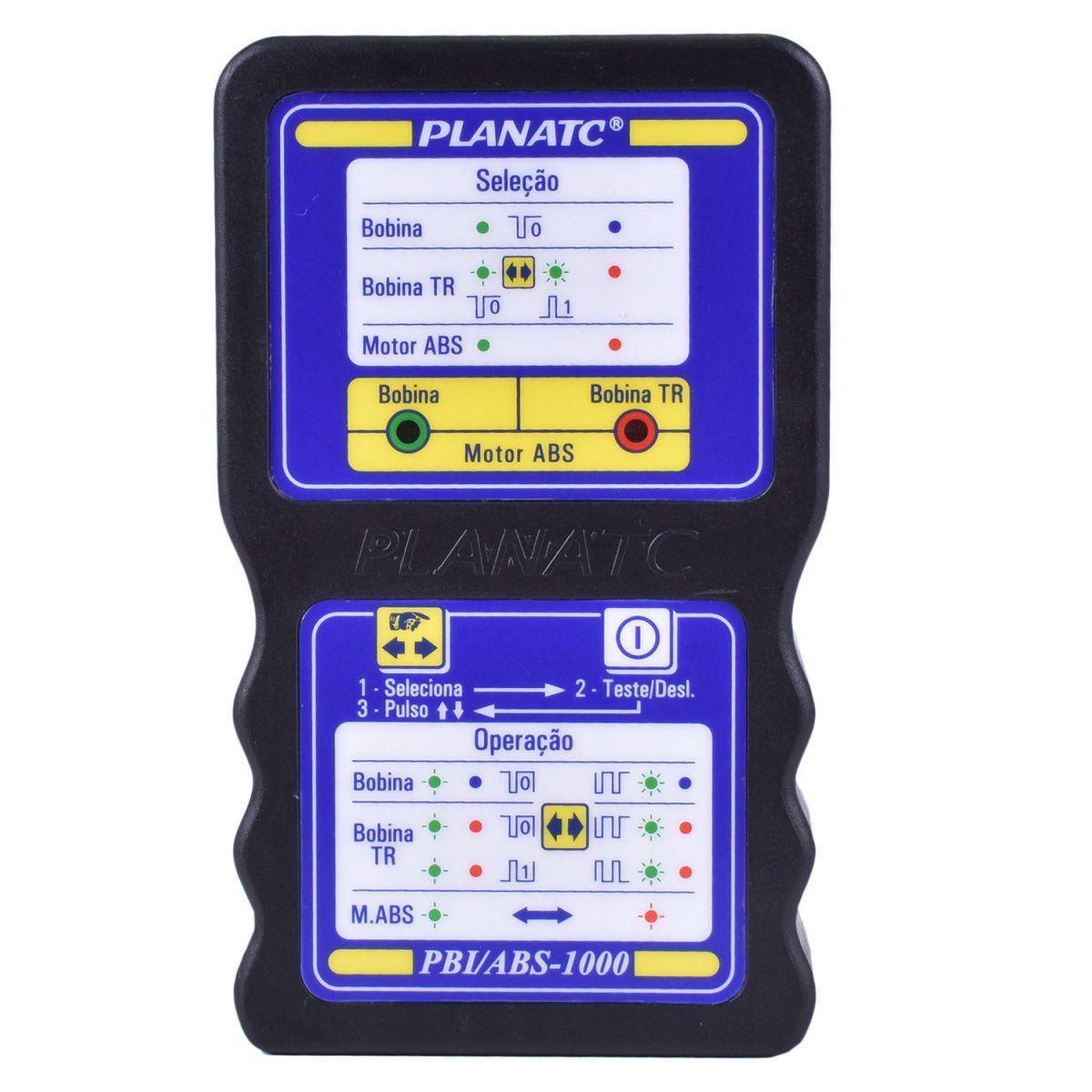 Teste de Bobina de Ignição Motor ABS - PLANATC PBI/ABS1000